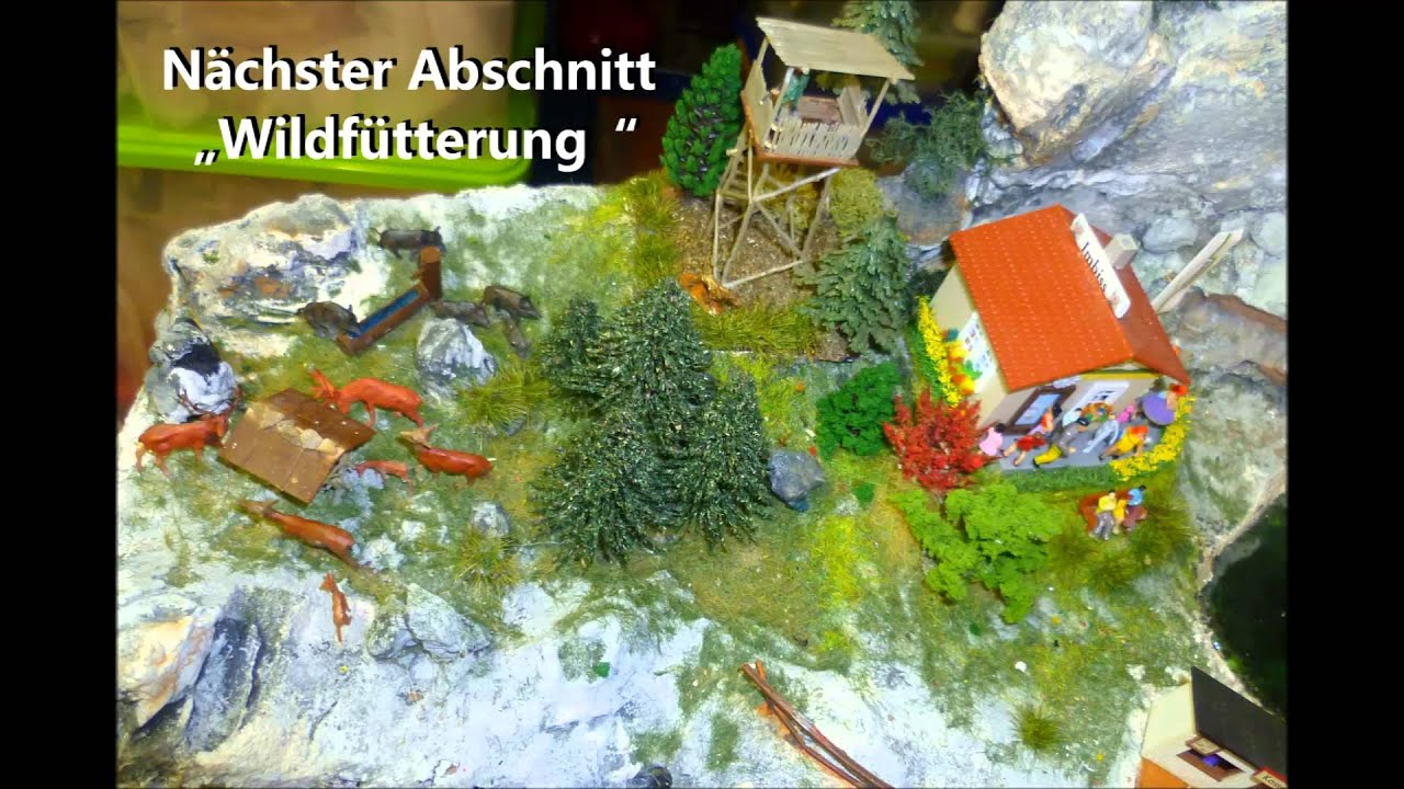 2014 03 07 h0 m rklin modelleisenbahn landschaft bergbau berg see wasser freizeit youtube. Black Bedroom Furniture Sets. Home Design Ideas