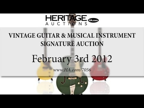 Heritage Auctions (HA.com) - February 2012 Vintage Guitars and Musical Instruments Auction #7056
