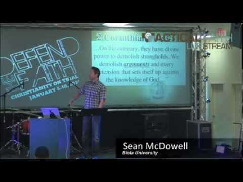 """Sean McDowell - """"Equipping Youth with a Biblical Worldview"""""""