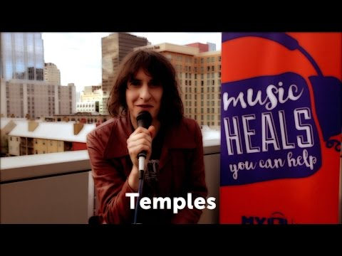 Adam Smith of Temples gets Supper Ready for MyMusicRx @ SXSW 2017