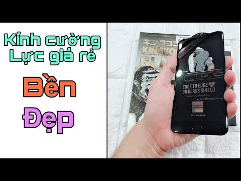 Kính cường lực - Trên tay kính cường lực giá rẻ tốt nhất cho iphone