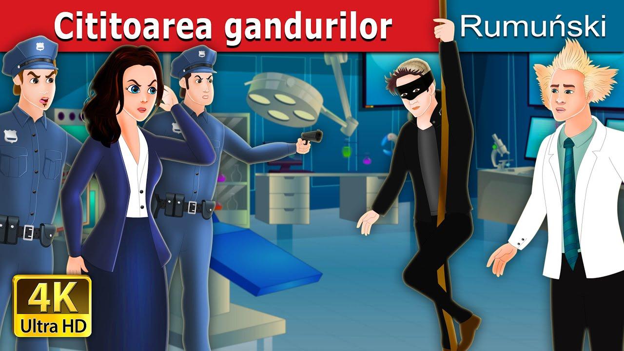 Cititoarea gandurilor | The Mind Reader in Romanian | Povesti pentru copii | Romanian Fairy Tales