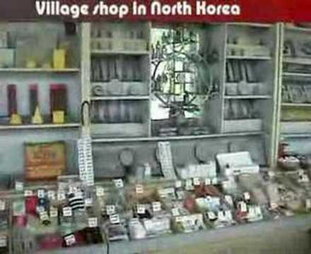 Village shop in North Korea