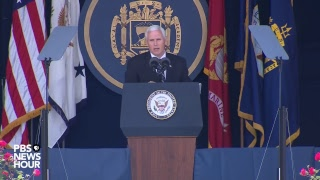 Watch Live: Vice President Mike Pence speaks at the Naval Academy graduation thumbnail
