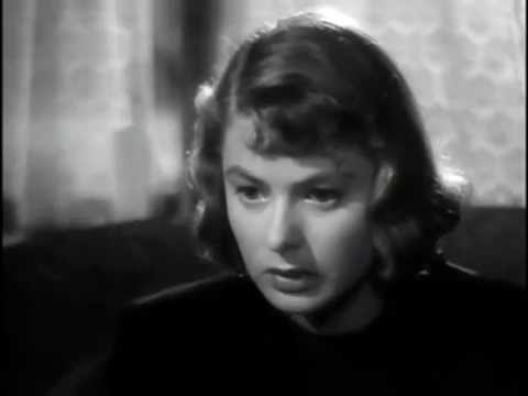 Arch of Triumph - Ingrid Bergman and Charles Boyer 1