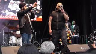 Zora Randhawa Fateh Doe En Karma Band live City of Bhangra Festival Vancouver 2017 vibc