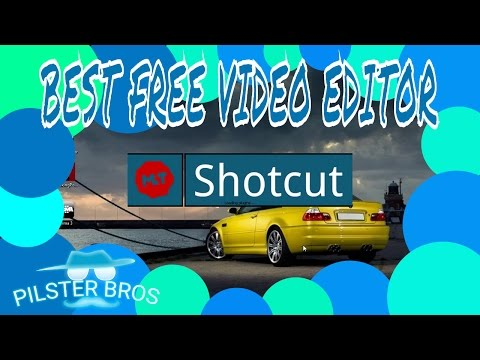 BEST FREE VIDEO EDITING SOFTWARE FOR YOUTUBE *SHOTCUT*