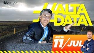 Las mentiras de Macri sobre rutas y cloacas: se construye la mitad que antes | #AltaData