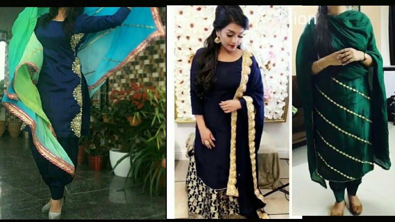 All New Punjabi Salwar Suits Designs And Beautiful Colour