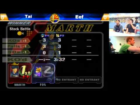 Tai (Marth) vs Eef (Fox)