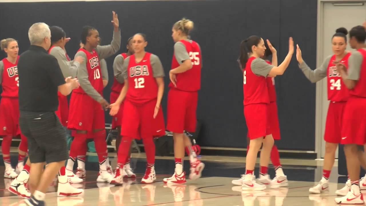 Basketball Players: USA Basketball Women's National Team Practice (02/21/16