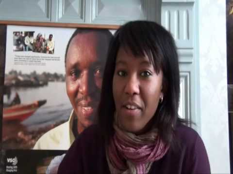 Banke's  VSO Justgiving video message
