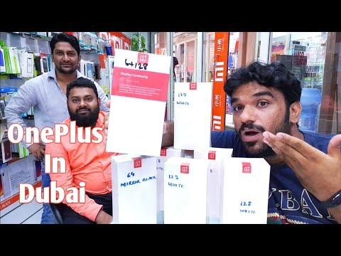 HINDI | Oneplus In Dubai. Oneplus 6t Available In Dubai. (Deira Wholesale Markets)