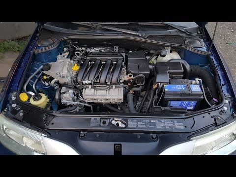 Renault Laguna 2 - Mycie silnika