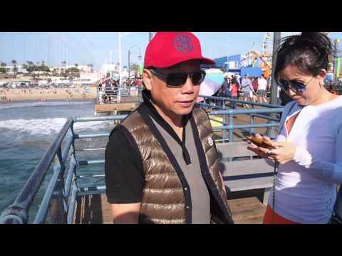 上海人 Visiting Santa Monica