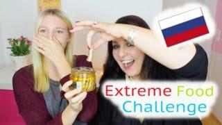 EXTREME FOOD CHALLENGE | Russisch & Polnisch | Outtakes