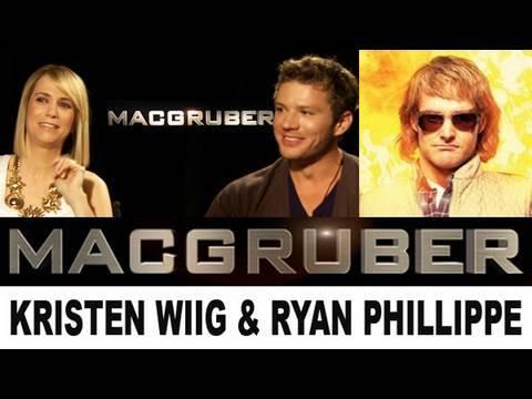 MacGruber Movie: Kristen Wiig & Ryan Phillippe talk to Beyond The Trailer