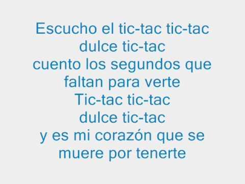 Flor Canzoni : No tengo nada e Tic Tac (più testo) ♬