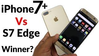 iPhone 7 Plus Vs Samsung Galaxy S7 Edge Speed Test - Ft. Nokia 3310!!