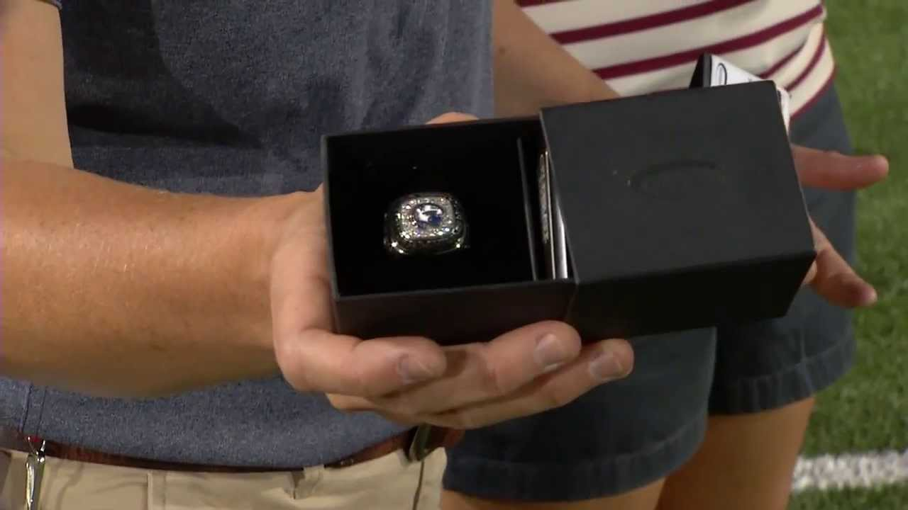 rings softball receives rose state bowl championship penn big ten article ring image football
