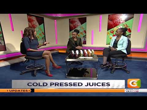 Food and nutrition matters; Cold pressed juices on #DayBreak