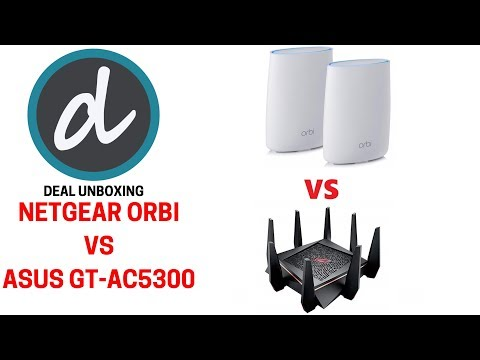 Netgear Orbi Mesh AC3000 VS Asus GT-AC5300 Comparison, Review & Unboxing
