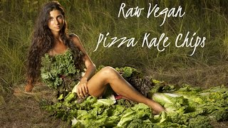 Raw Vegan Pizza Kale Chips (healthy Hair, Healthy Skin)
