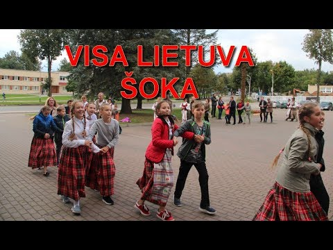 Visa Lietuva šoka (Elektrėnai)