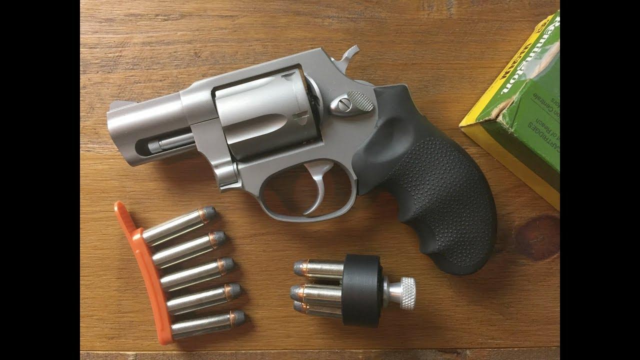 Speedloader vs  Speedstriip -  357 /  38 Revolver - Taurus 605 / 85