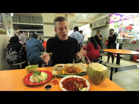 A taste of Singapore at Little India's Hawker Center