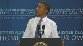 Video Happy Birthday Mr President! Birthday message interrupts Barack Obama's speech download MP3, 3GP, MP4, WEBM, AVI, FLV Juli 2018