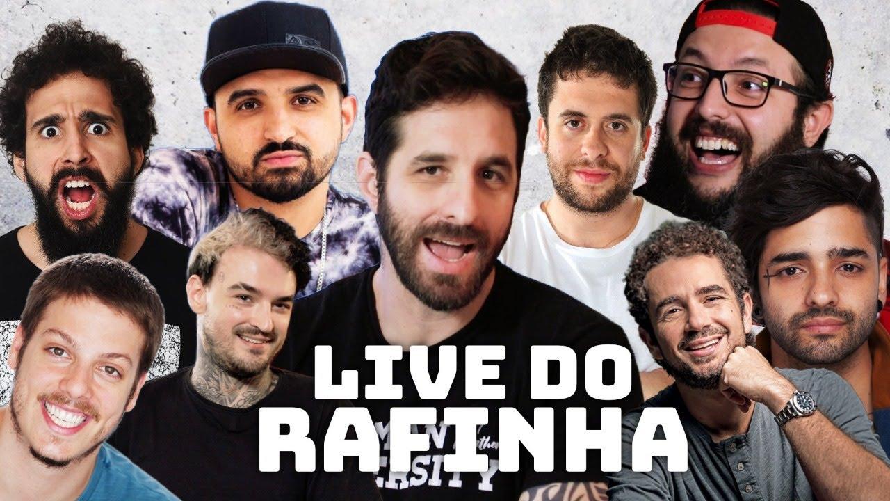 LIVE DO RAFINHA... PRA SALVAR A COMÉDIA