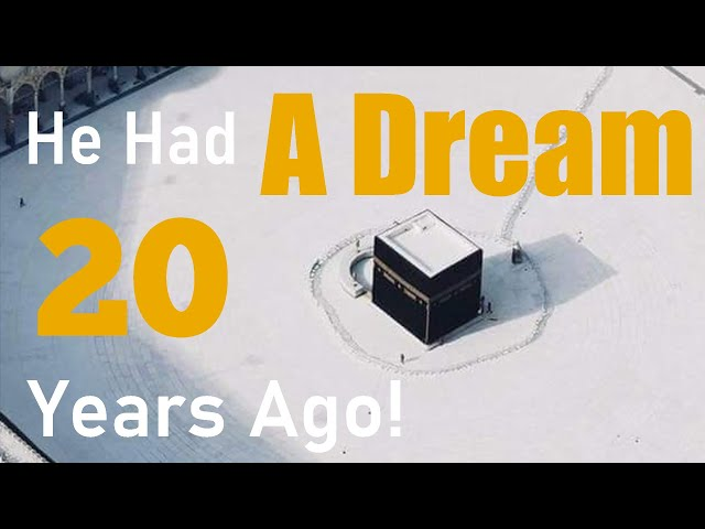 Subhanallah! Dream comes true after 20 years!