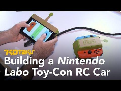 Building a Nintendo Labo Toy-Con RC Car
