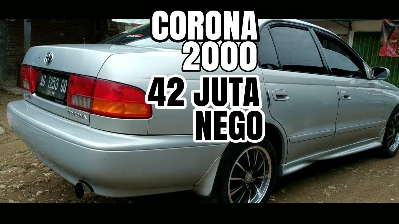 Toyota Corona 2000 Th1996 42 Juta Nego Youtube