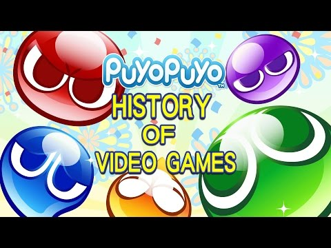 History of Puyo Puyo ぷよぷよ (1991-2017) - Video Game History