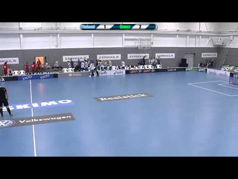 Suomi - Tshekki Women´s Euro Floorball Tour 2014
