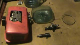 Жөндеу мотоблока // Отын жүйесі дизельді қозғалтқыш 178F. Жуу форсункалар. Бөлім 4.1.