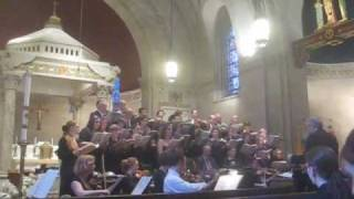 Cornerstone Chorale Spring Concert (excerpt) at Church of the Good Shepherd