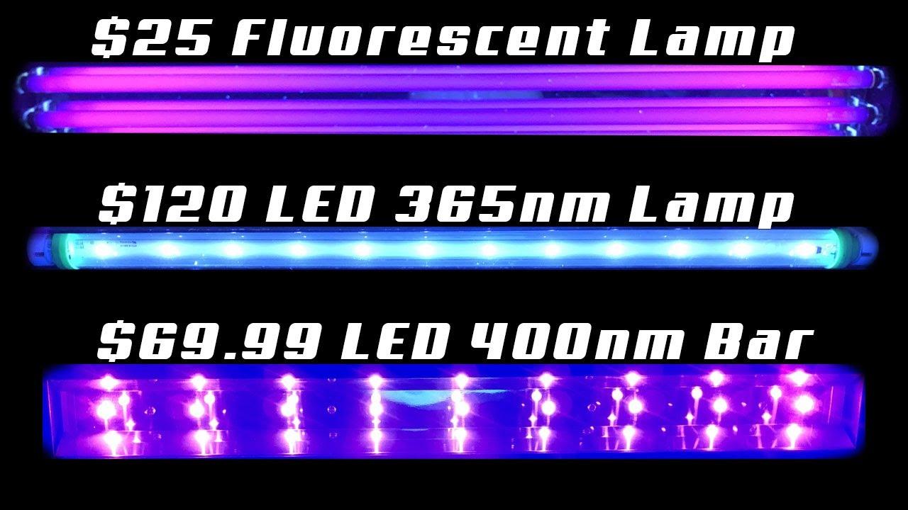 Download Fluorescent VS LED Black Light - Which Is The BETTER Black Light Effect?