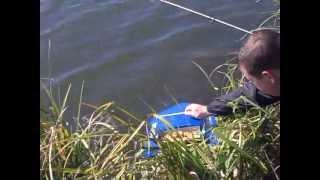 радиоуправляемый кораблик на рыбалке видео
