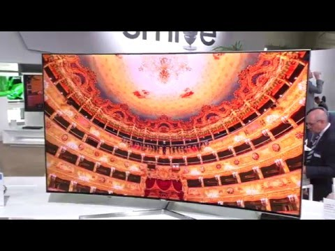 samsung ks9090 suhd tv 2016 ces 4k doovi. Black Bedroom Furniture Sets. Home Design Ideas
