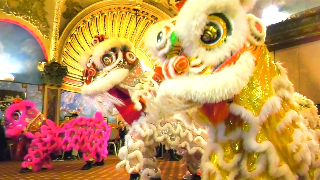 2016 Lion Dance Empire Garden Restaurant Opening