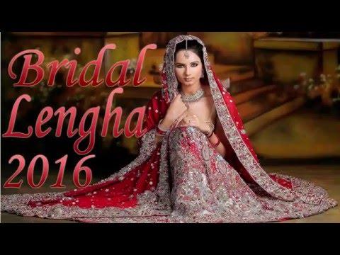 Pakistani Bridal Lehenga Dresses Designs Styles 2016 2017 Collection