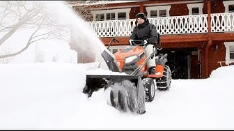 stiga park pro snow blower | aka VIDEOS