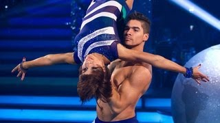 Louis Smith & Flavia Showdance to