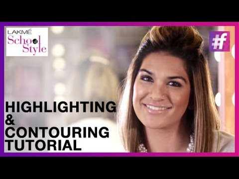 Makeup- The Art of Contouring & Highlighting with #LakmeSchoolOfStyle