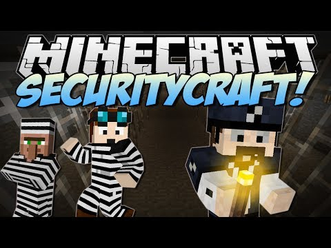 Thumbnail: Minecraft | SECURITYCRAFT! (Lasers, Mines, Keycards & More!) | Mod Showcase