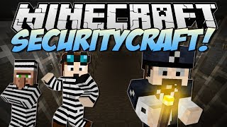 Minecraft | SECURITYCRAFT! (Lasers, Mines, Keycards & More!) | Mod Showcase