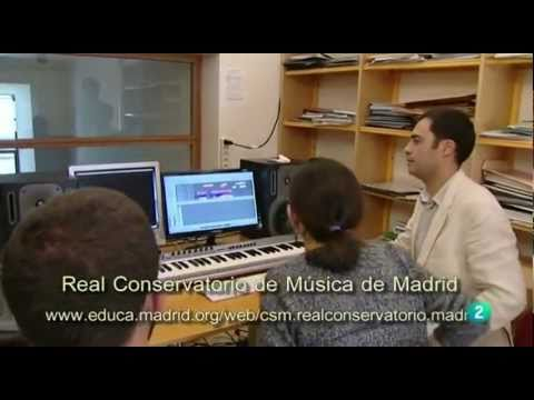 Composición para Cine en el Real Conservatorio Superior de Música de Madrid